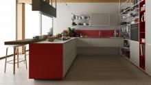 Riciclantica collection with Meccanica shelving.